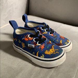 Gently worn Dinosaur Vans